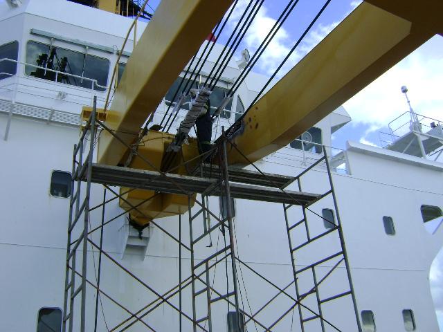 Crane Repair 2